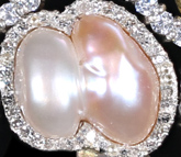 two colour natural pearl from The Tiara Company - The Cubitt Collection Tiaras